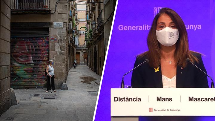 Catalunya tanca amb pany i forrellat davant una situació «crítica»