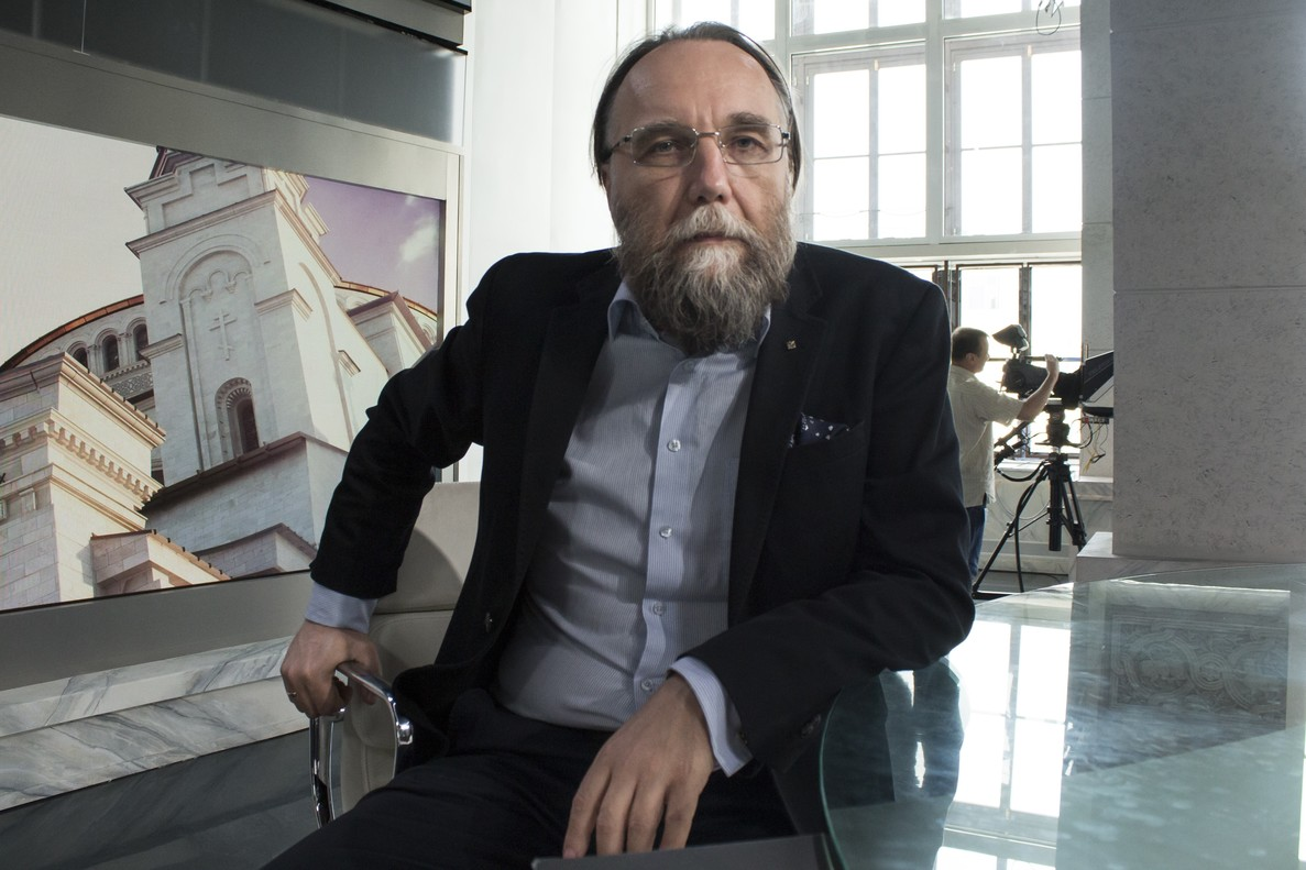 El filósofo ruso Aleksàndr Dugin.
