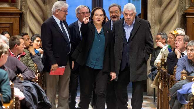 Pasqual Maragall reapareix en un homenatge als alcaldes democràtics