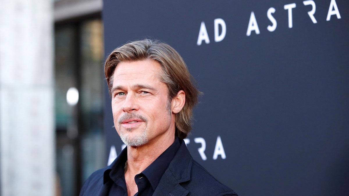 Alfombra roja del estreno de la película 'Ad Astra' en Los Ángeles. En la foto, Brad Pitt.