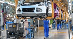 Ford inicia la negociación de un ERTE en Almussafes