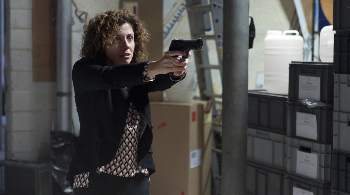 Anna Sahun, que interpreta a Lídia en La Riera.
