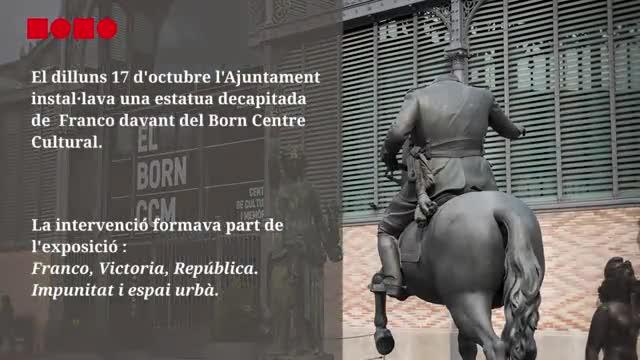 Antifranquistas, 'processistes', lanzadores de huevos..., Franco ha vuelto