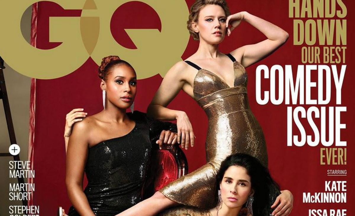 La burlona portada de GQ donde sobran piernas y brazos.