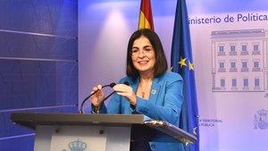La ministra de Política Territorial y Función Pública, Carolina Darias.