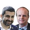 Chakir El Homrani y Albert Castellanos