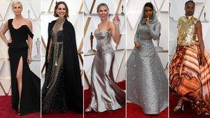 Charlize Theron, Natalie Portman, Scarlett Johansson, Janelle Monáe y Billy Porter.