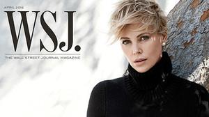 Charlize Theron, en la última portada de la revista WSJ.