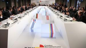 Cumbre iberoamericana de Cádiz del 2012.