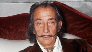 Dalí, en una imagen de 1972.