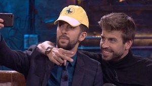 David Broncano y Gerard Piqué en 'La Resistencia'.