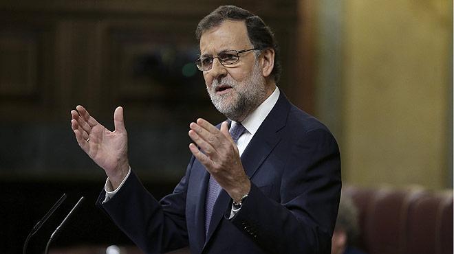Debate de investidura de Mariano Rajoy. Rajoy, a Sánchez: Tenga la absoluta certeza de que ya he entendido todas las partes del no.