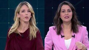 """Las violaciones según Cayetana Álvarez de Toledo y el """"chaval"""" de Arrimadas a Rufián, momentazos del debate de TVE"""