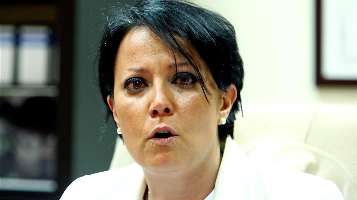 Rosa Luna,la portavoz de Ciudadanos en Ponferrada que ha dimitido por discrepar con la dirección