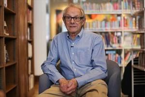 El director británico Ken Loach, en Londres, hace unos meses.