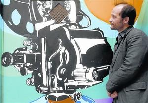 El director francés Thomas Lilti, en Madrid, promocionando Hipócrates.
