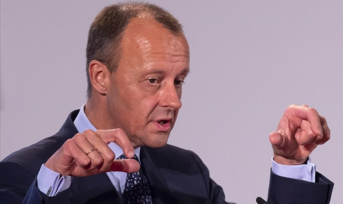 El dirigente de la CDU Friedrich Merz.