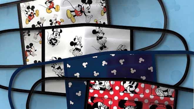 Disney estrena mascarillas de tela con sus personajes.
