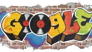 El doodle dedicado al nacimiento del hip hop.