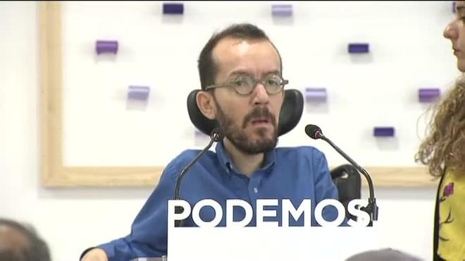 Echenique ha recordado a Ciudadanos que el PP de Madrid tiene imputados a sus últimos secretarios generales.
