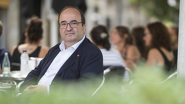 """Miquel Iceta: """"Nunca he creído que Iglesias quiera un acuerdo"""""""