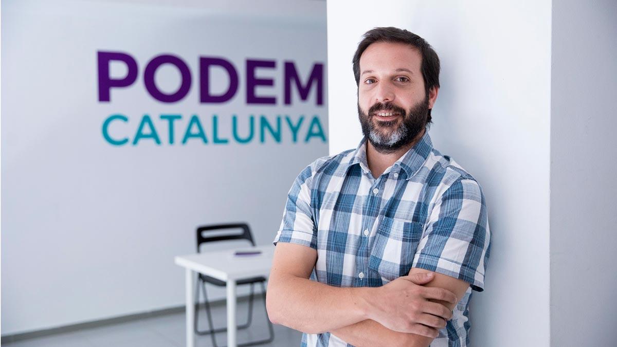Entrevista a Jaume Durall, candidato a las primarias de Podem Catalunya