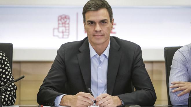 Sánchez afirma que no piensa dimitir aunque el comité federal tumbe su propuesta de congreso