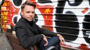 El escritor Nathan Hill, en su reciente visita a Barcelona.