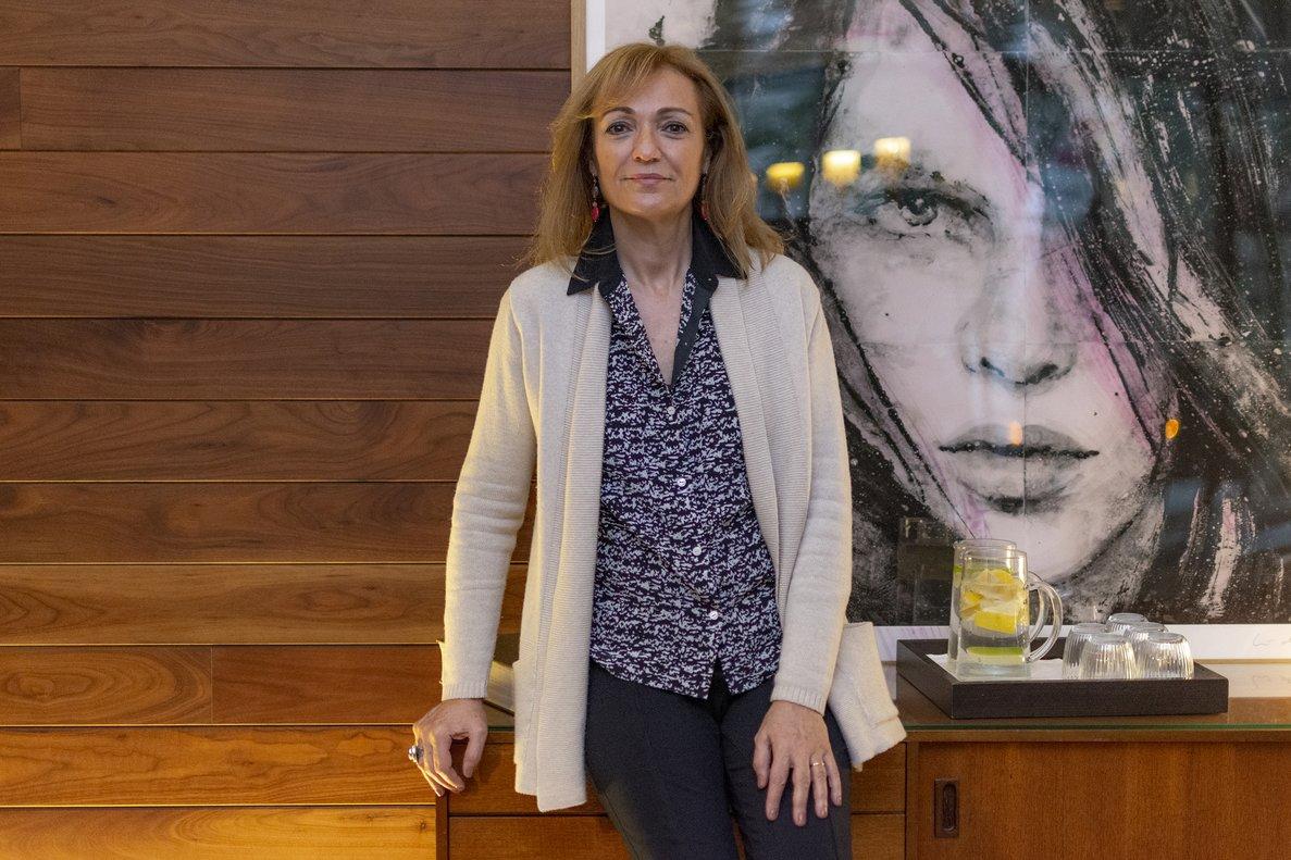 Cristina Morató, durante la entrevista en el hotel Alexandra de Barcelona.