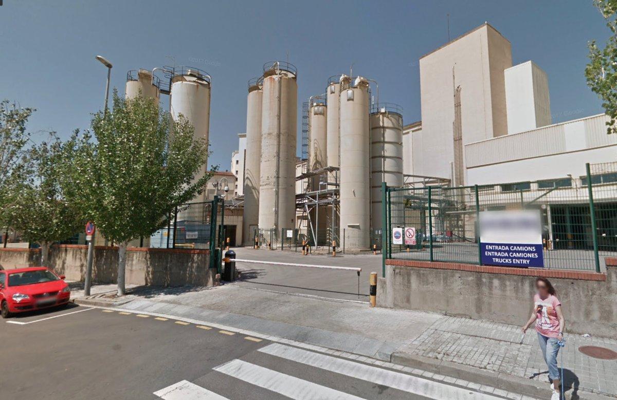 La fábrica de Gallina Blanca (Agrolimen) de Sant Joan Despí.