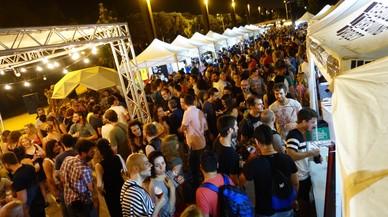 El Parc del Poble Nou acoge este fin de semana la Fira de Cerveses Artesanes