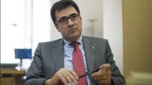 El secretario de Hacienda del Govern y secretario general adjunto de ERC, Lluís Salvadó.