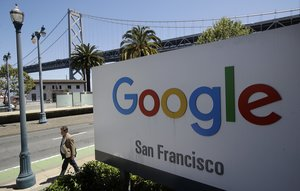 Las oficinas de Google en San Francisco, California.