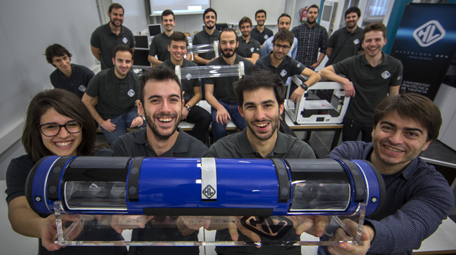 Video sobre el funcionamiento del Hyperloop.