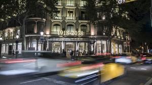 El hotel de lujo más antiguo de Barcelona festeja cien años de historia