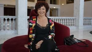 La directora Icíar Bollaín, durante la presentación de su película en el Festival de Cine de San Sebastián.