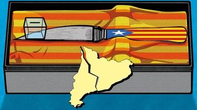 Puigdemont, Junqueras y Companys