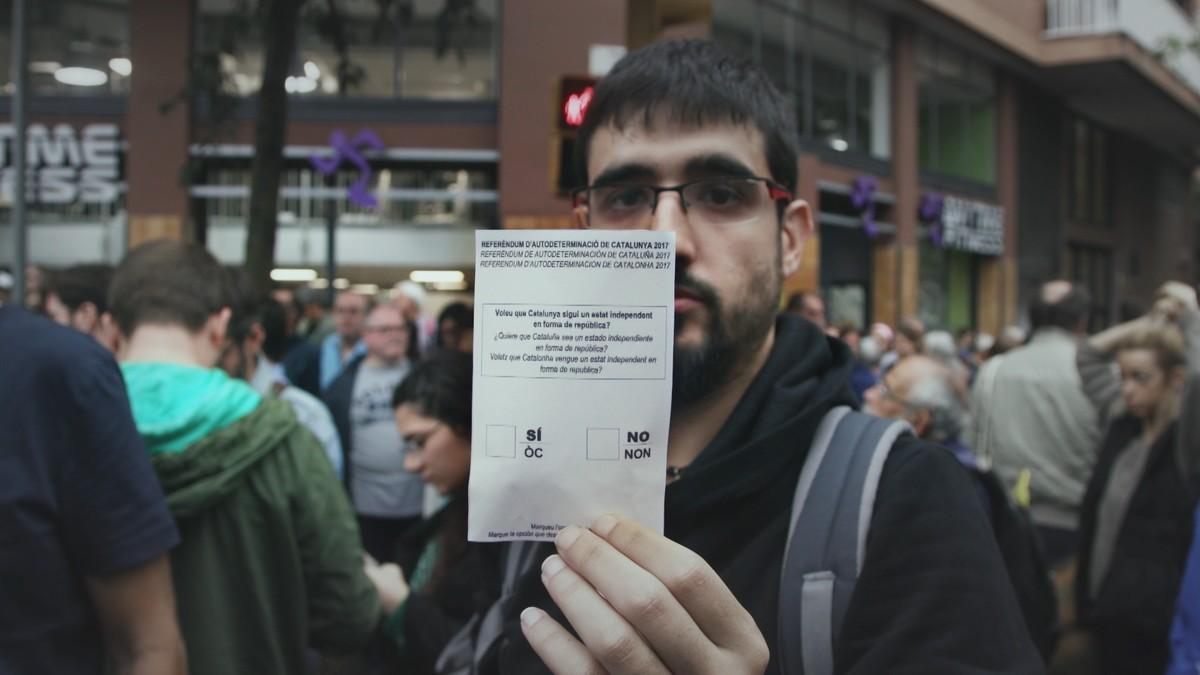 Imagen del reportaje de Sense ficció 1-O. El programa más visto de enero en Catalunya.