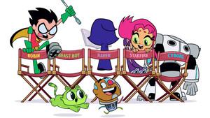 Imagen promocional de Teen Titans GO!