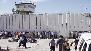 Imágenes de archivo de la cárcel de Ciudad Juárez, México.