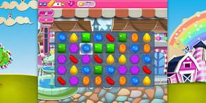 Imatge del joc Candy Crush Saga.