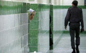 Interior de las prisión iraní Evin, en el norte de Teherán.