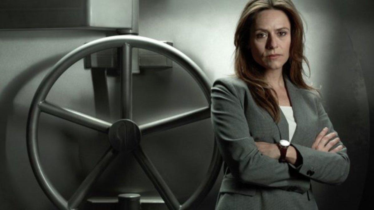 Itziar Ituño da vida a la inspectora Murillo en 'La casa de papel'.