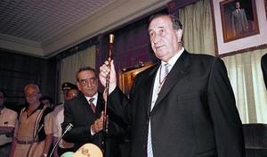 Jesús Gil, durante su toma de posesión de la alcaldía de Marbella en julio de 1999.