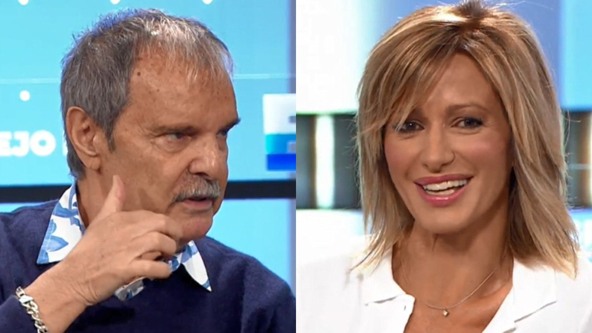Jesús Mariñas se reencuentra con Susanna Griso tras sus críticas a la presentadora