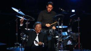 Julio Iglesias, en un concierto este año en la capital de México.