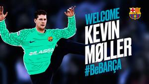Kevin Möller, nuevo portero del Barça de balonmano