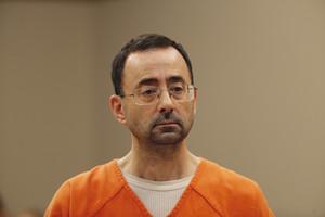 Larry Nassar, durante el juicio.