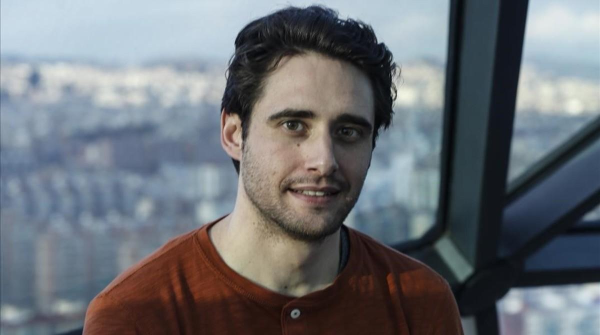 El actor Llorenç González, en el hotel Hesperia Tower de L'Hospitalet de Llobregat.