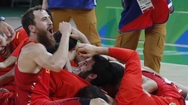Colofón de bronce para España